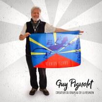 Guy Pignolet - Créateur du drapeau de la Réunion