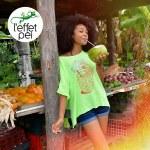 Top femme Cocktail Péi - Fruits île de la Réunion