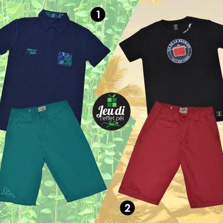 Laquelle de ces tenues préférez-vous ?
