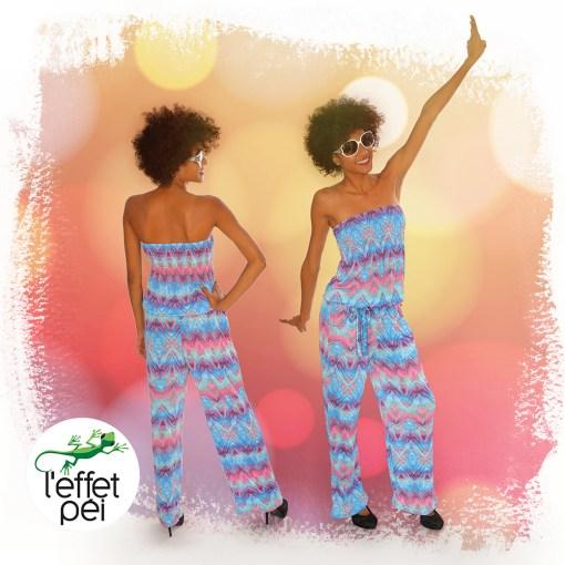 Combinaison Pantalon Bandeau Didi - Femme - disco