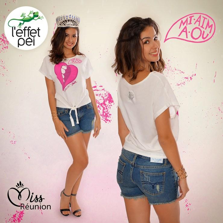 Miss Réunion - Ambre Nguyen nous présente le top Oana Mi aim a ou