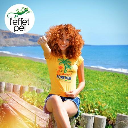 T-shirt Summer Forêver - île de la Réunion - Saint Paul