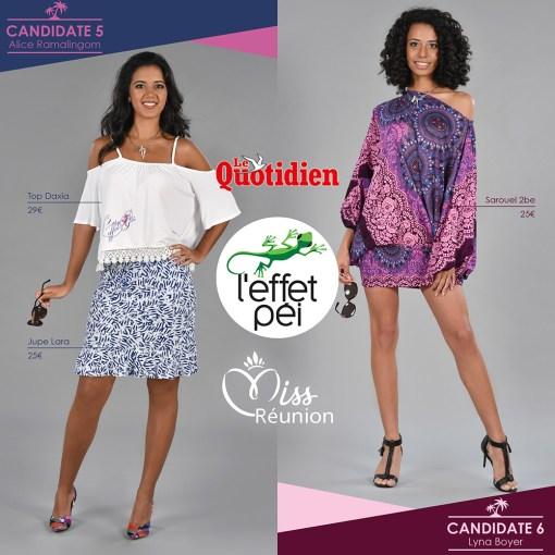 Miss Réunion 2017 - Candidates 5 et 6