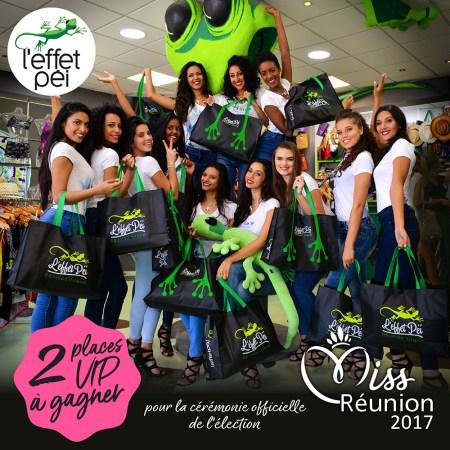 Jeudi Péi - 2 Places VIP à la soirée officielle de Miss Réunion 2017 à gagner