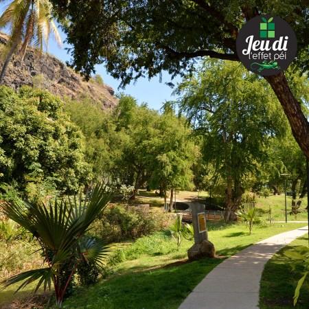 Ce parc est celui de quel site historique de la Réunion ?