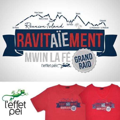 T-shirt Ravitaiement - Grand Raid