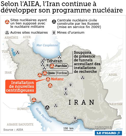 Selon l'AIEA, l'Iran continu à développer son programme nucléaire