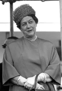 Yvonne de Gaulle (de 1958 à 1969)
