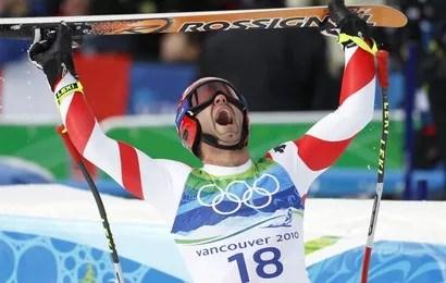 Didier Defago, champion olympique de descente à 32 ans