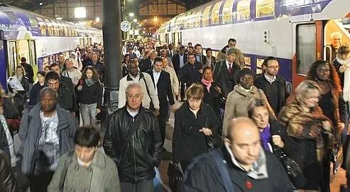 la gare Saint-Lazare le 12 octobre dernier.