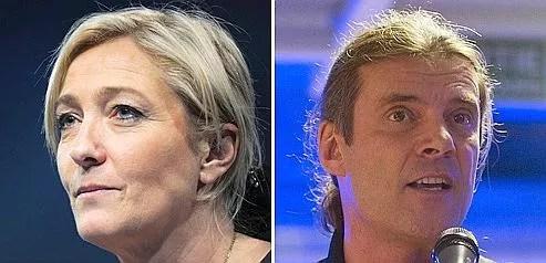 Marine Le Pen vante le «courage» et la «liberté de parole» d'Oskar Freysinger, élu UDC.