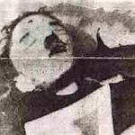 Photo du cadavre de Gustav Weler