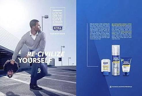 Publicité Nivea.