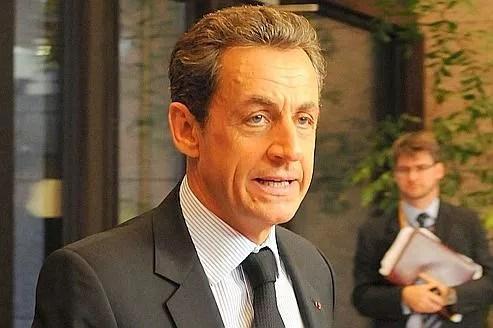 Le président Nicolas Sarkozy à Bruxelles le 26 octobre dernier.