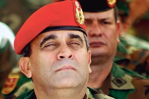 Le général Raul Baduel, à Caracas, en 2010.