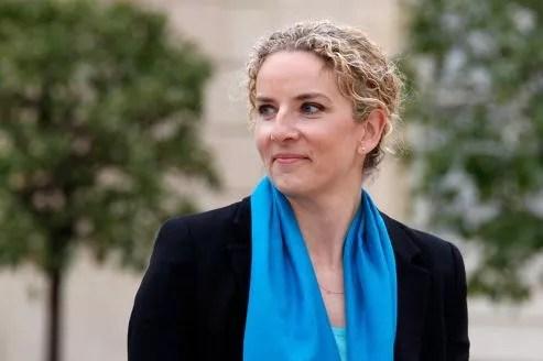 Delphine Batho, la ministre déléguée à la Justice, jeudi 17 mai au Palais de l'Élysée.