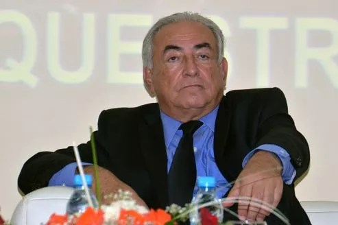 Dominique Strauss-Kahn, hier à Marrakech.