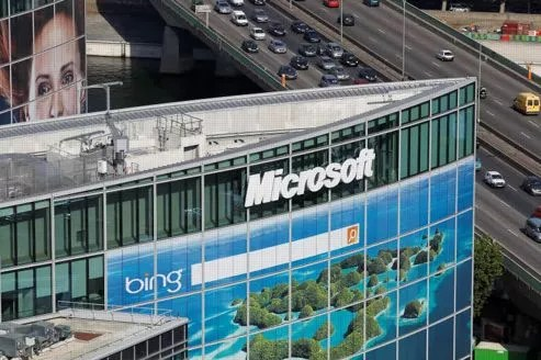 Le siège de Microsoft France