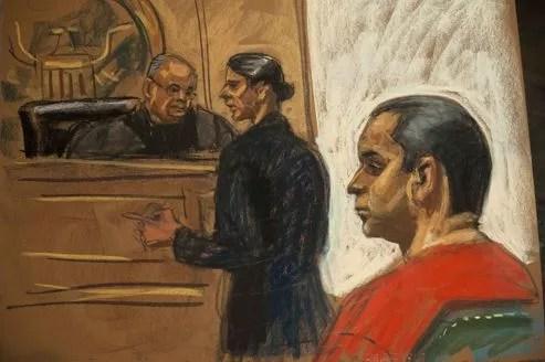 Gilberto Valle, 28 ans, avec son avocate