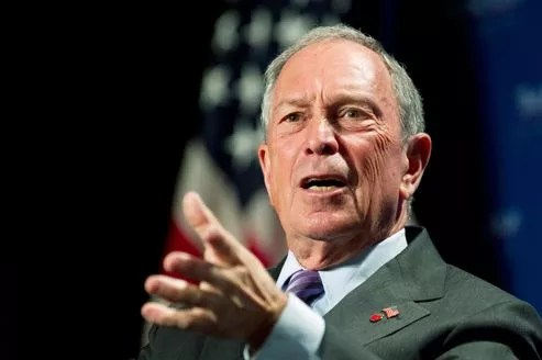 Le maire de New York, Michael Bloomberg, s'était habituellement montré très critique à l'égard du président démocrate comme du candidat républicain.