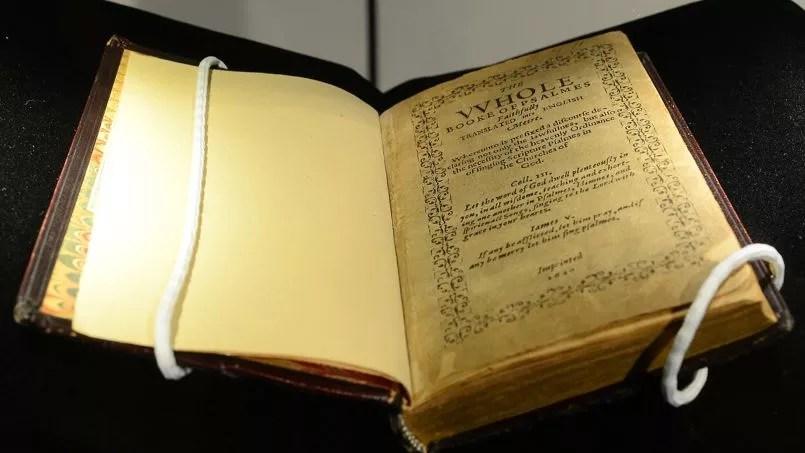 La <i>Bay Psalm Book </i>vendu mardi est l'une des onze copies connues.
