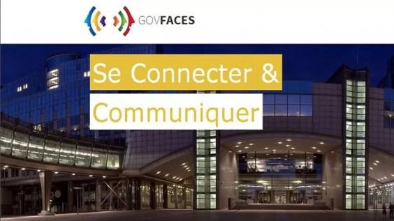 Page d'accueil de Govfaces, le réseau social pour les politiques