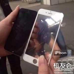 Une photo de la face avant supposée de l'iPhone 6.
