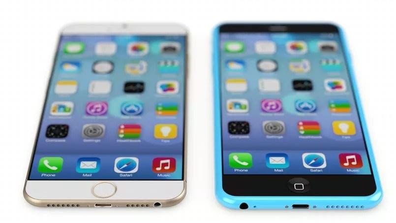 Des vues de l'iPhone 6 par Martin Hajek.