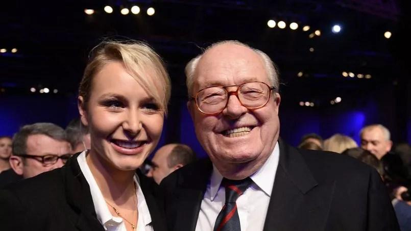 Marion Méréchal Le Pen et son grand-père Jean-Marie Le Pen