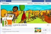 Ecran Facebook