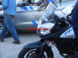 Αστυνομία αλλά και... Λιμενικό στο Δημοτικό Στάδιο. Ερασιτεχνικό Ποδόσφαιρο, σεζόν 2015-2016...