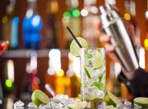 Summer Cocktail at Le Fontane Restaurant