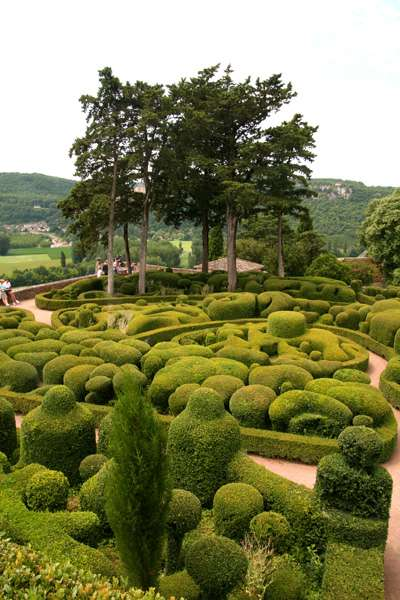 Marqueyssac gardens in the Dordogne, France. Image copyright Le Franco Phoney, La Clusaz, France.