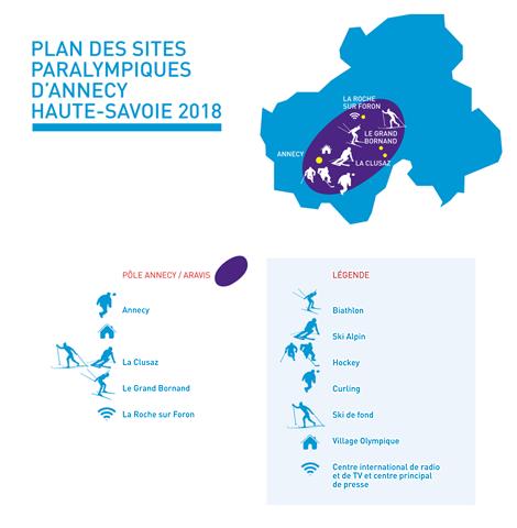 Annecy 2018 Winter Paralympics plan, Haute Savoie, France, blog