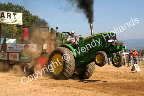 Tractor wheelie