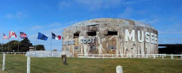 Batterie Todt bunker French coast