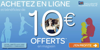 Discount offer from French supermarket Carrefour