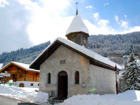 Photo of the Chapelle de Gotty in La Clusaz, France