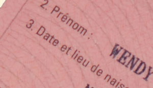 <My very own French driving licence from Annecy prefecture>