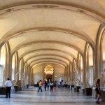 Photo inside the Paris Louvre