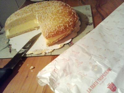 La Tarte Tropezienne, French treat - Le Francophoney blog