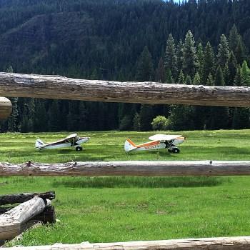 Piper Cubs at Reds Wallowa Ranch