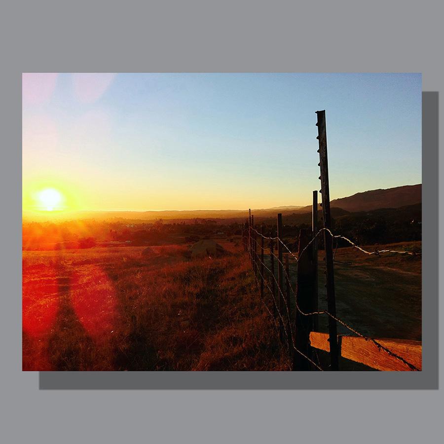 Image: California Sunset, Santa Barbara