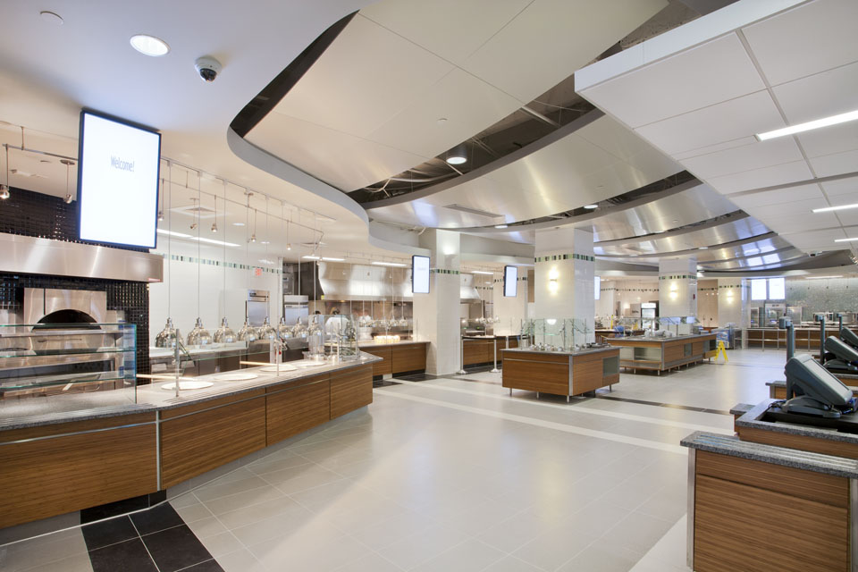 Leftfield Portfolio College University Servery