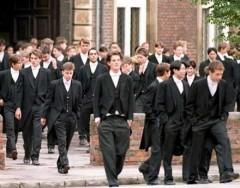 Pupils at Eton