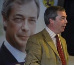 Nigel Farage, still from UKIP video