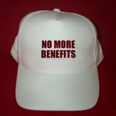 NO MORE BENEFITS CAP