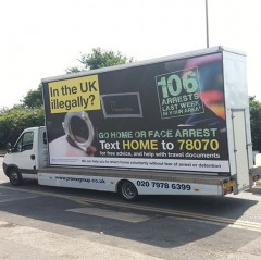 In the UK illegally?