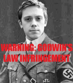 Owen Jones compared to a fascist