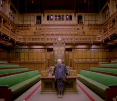 Benn in the House of Commons, still from Last Will and Testament trailer